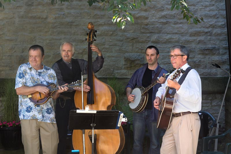 Them Other Freerange Pluckers, Trinity Bluegrass Service